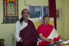 Akong Tulku Rinpoche & Arya Saya Kunsal Kassapa Madrid