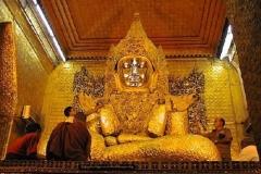 Mahamiamuni Buddha image Mandalay